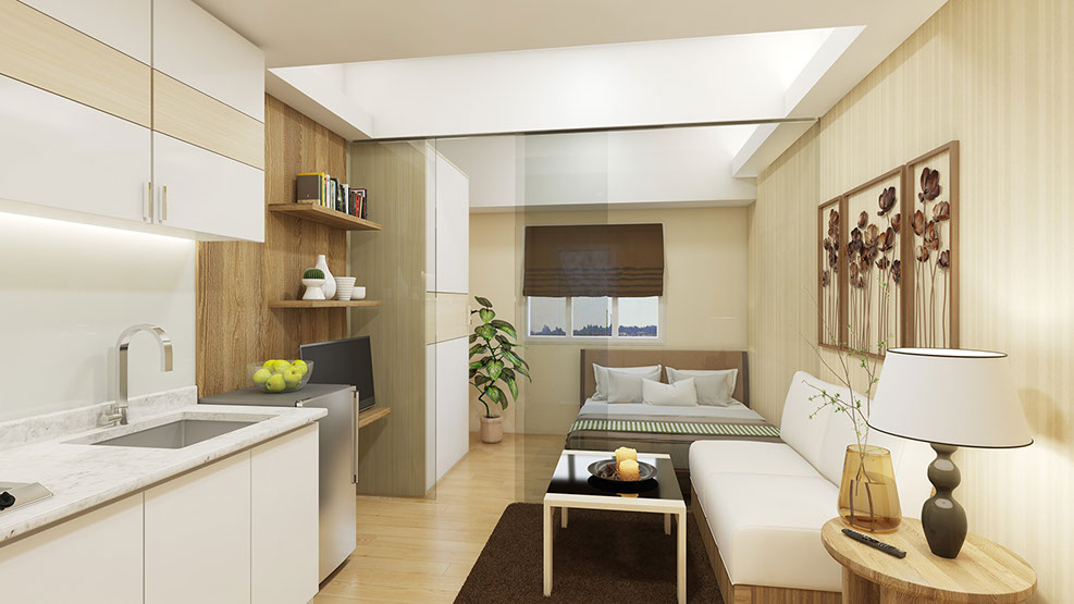 Smdc condo property smdc grace residences for Smdc 1 bedroom interior design