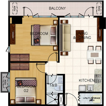 shell-residences-2-bedroom-end-unit-with-balcony