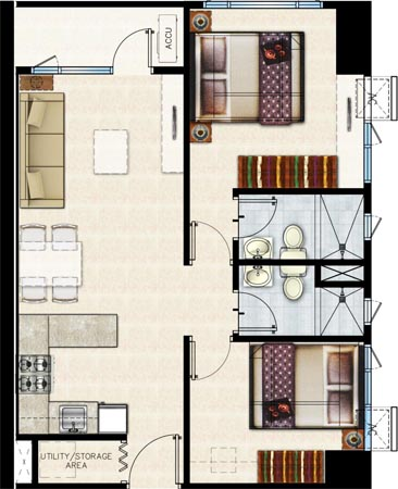 shore-residences-2-bedroom-with-balcony
