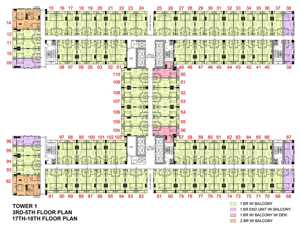 Fame Residences Floor Plan Fame Residences Smdc In Dubai