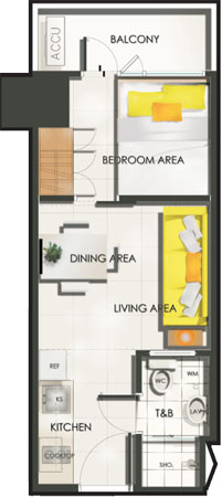 sun-residences-1-bedroom-with-balcony