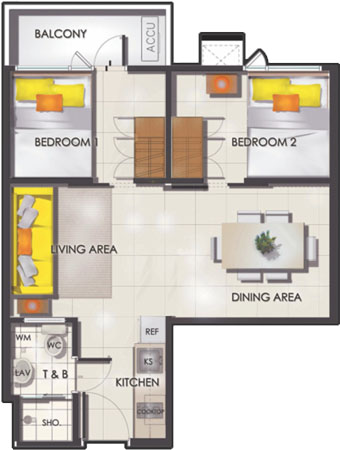 sun-residences-2-bedroom-with-balcony