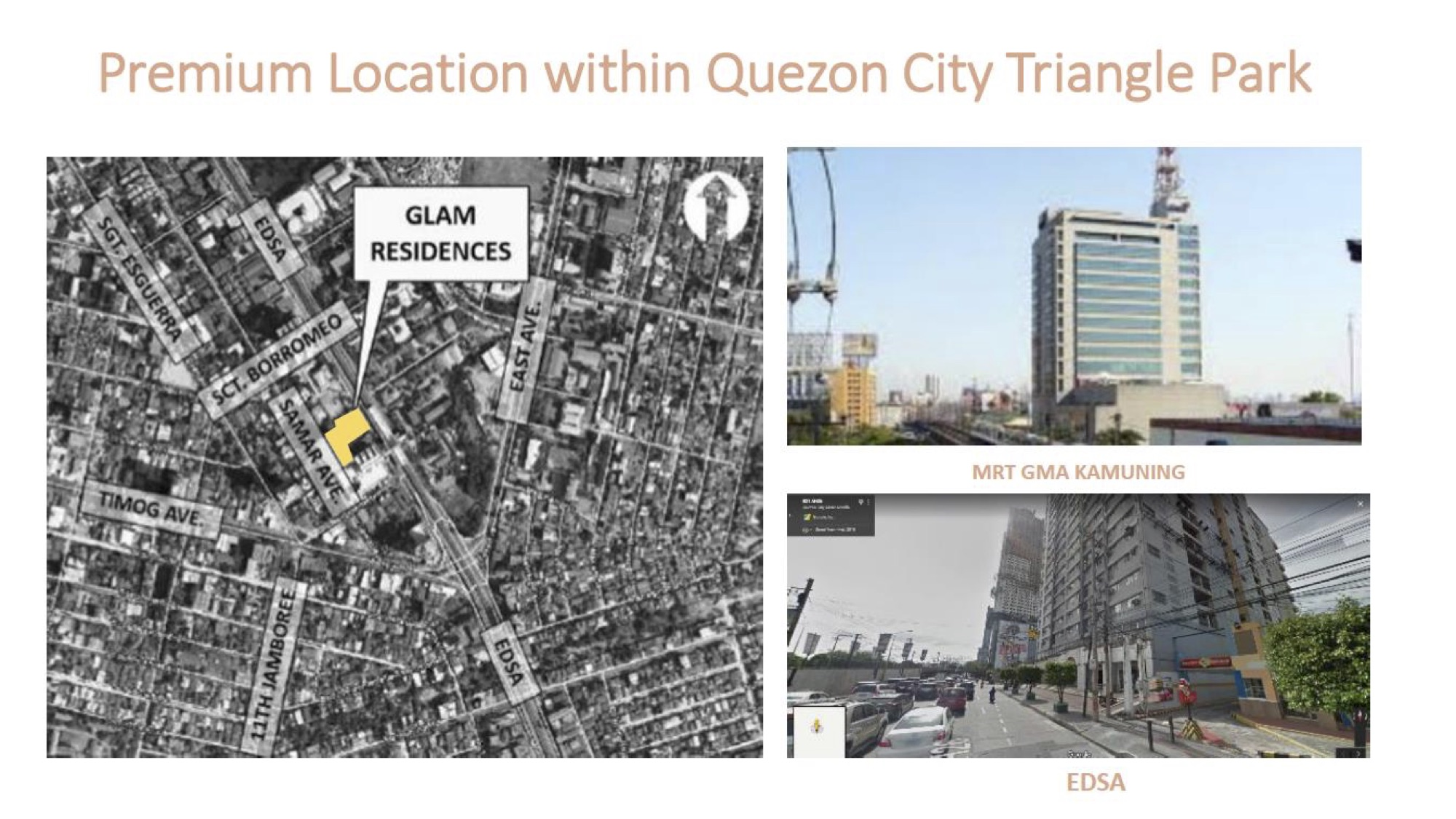GLAM Residences Location
