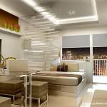 1 bedroom unit balcony