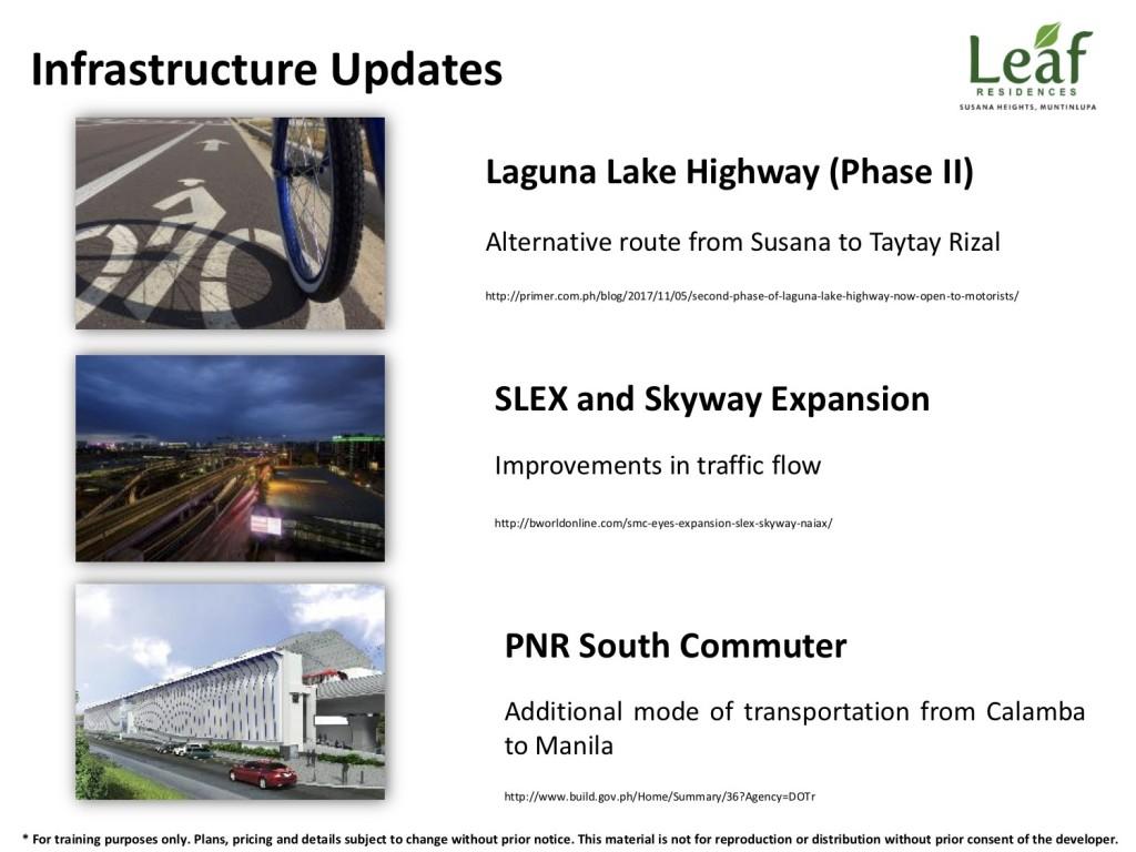 Infrastructure Updates